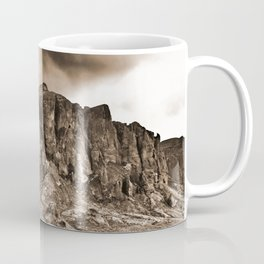 North Face of the Superstition Mountains Coffee Mug