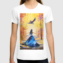 Twilight Princess And Zelda Flying T-shirt