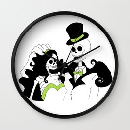 Till Death Do Us Part Wall Clock