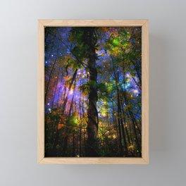 Forest of the Fairies Night Framed Mini Art Print