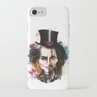 johnny depp iPhone & iPod Cases featuring Johnny Depp by Owen Ballesteros