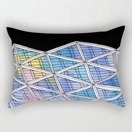 Architecture triangles Rectangular Pillow