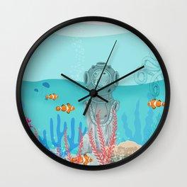 WATER DOG Wall Clock
