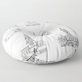 Philly Love Floor Pillow