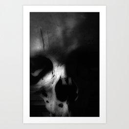 Kostnice Beinhaus Skull III Art Print