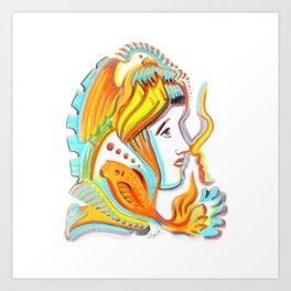 Admiration is Fragile Art Print