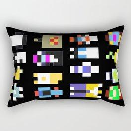 Minimalist undertale characters Rectangular Pillow