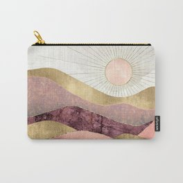 Blush Sun Carry-All Pouch