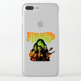 king gizzard Clear iPhone Case