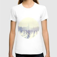 istanbul T-shirts featuring White İstanbul by josemanuelerre