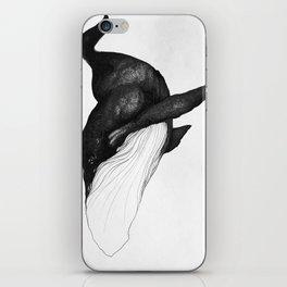 Blue Whale Sea King iPhone Skin