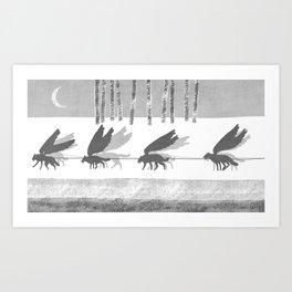 """""""Ammarnäs"""" illustration Toni Demuro Art Print"""
