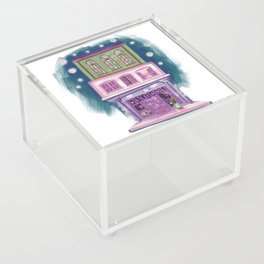 Cute colorful shop Acrylic Box