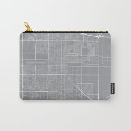 Oxnard Map, California USA - Pewter Carry-All Pouch
