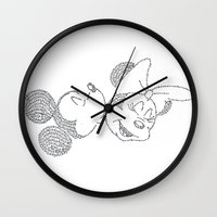 minnie Wall Clocks featuring Mickey & Minnie by S. L. Fina