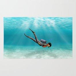 S.C.U.B.A. Diver Rug