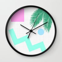 selena Wall Clocks featuring Selena by 550am