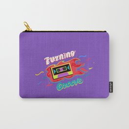 Burning groove. Carry-All Pouch