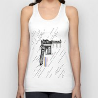 gun Tank Tops featuring Gun  by Forrest Wright