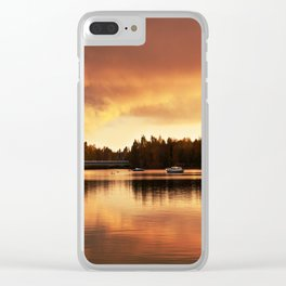 Oulu Clear iPhone Case