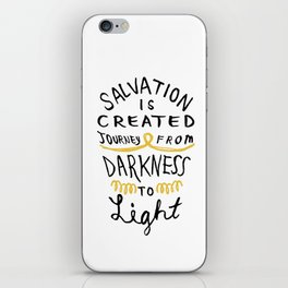 Salvation is Created iPhone Skin