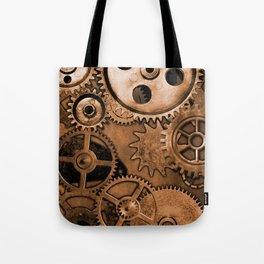 Steam Punk Gears Tote Bag