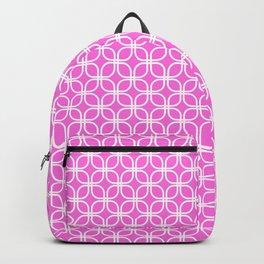 Trellis_Pink Backpack