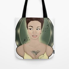 Miss Melody Tote Bag