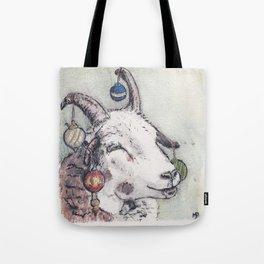 Yule Sheep Tote Bag