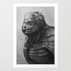 bird mutation Art Print