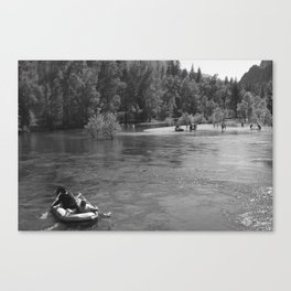 Lazy Day Canvas Print