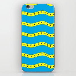 Coastal Pattern On the Beach iPhone Skin