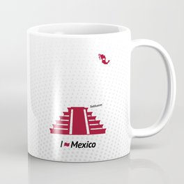 I love Mexico - Teotihuacan Coffee Mug