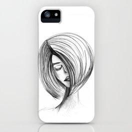 Girlie 01 iPhone Case