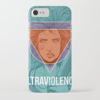 ultraviolence iPhone & iPod Cases featuring UltraViolence by EzJedi