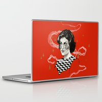 audrey Laptop & iPad Skins featuring Audrey by moon-meat