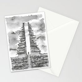 Candi Bentar Stationery Cards