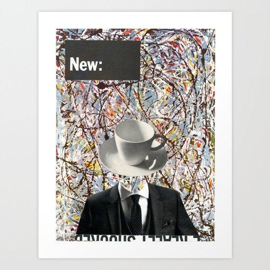 The New Pollock Art Print