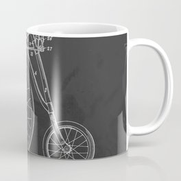 Antique Bicycle Patent 1889-1901 Coffee Mug