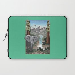 Animal Scapes - An Unparalleled Wonder Laptop Sleeve