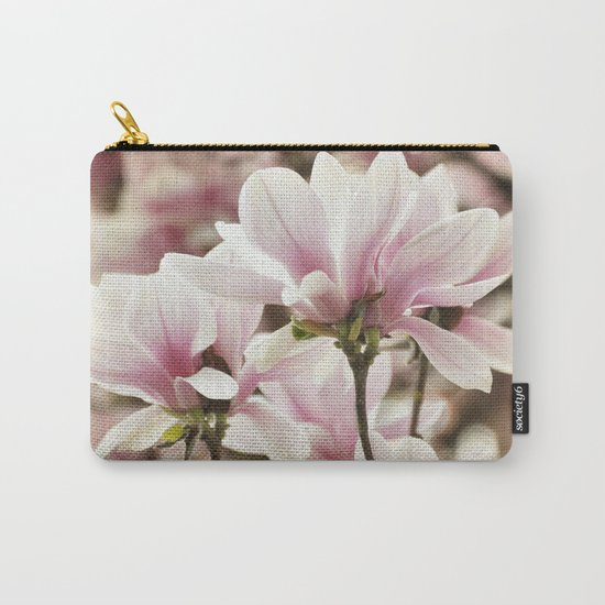 Beautiful Pink Magnolia Carry-All Pouch