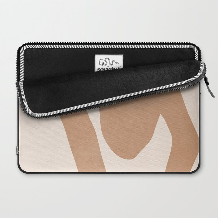 abstract minimal girl Laptop Sleeve