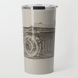 Old Camera Travel Mug