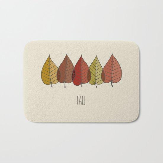 Fall Colours Bath Mat