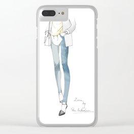 ZAra Clear iPhone Case