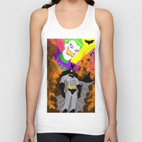 attack on titan Tank Tops featuring Attack On Joker by winterknight