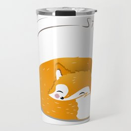 stay at home fox Travel Mug