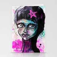 sister Stationery Cards featuring SIsTeR by SannArt