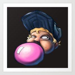 Bubbleyum Art Print