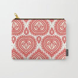 Decorative Red Carry-All Pouch